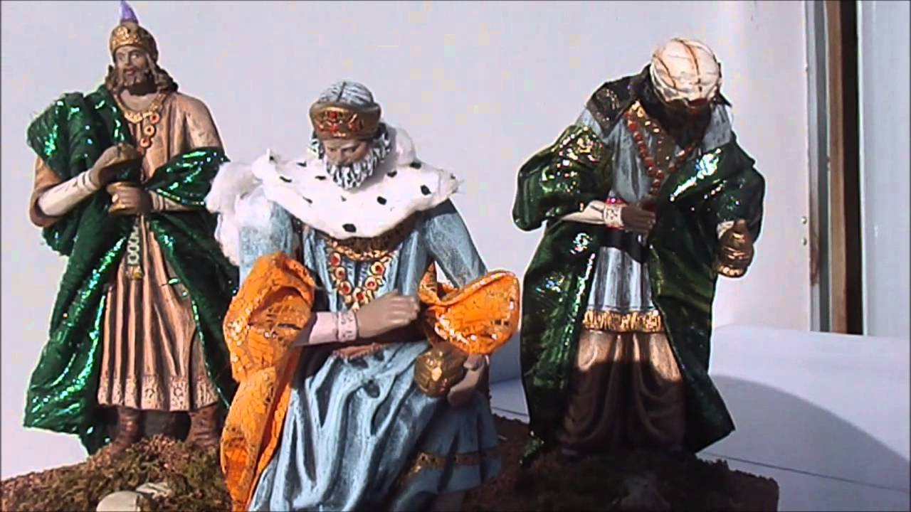 figuras de navidad con movimiento nativity scene belenes laravid youtube