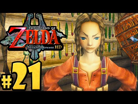 The Legend of Zelda Twilight Princess HD Gameplay Walkthrough PART 21 Hena & Iza Zora's River Wii U