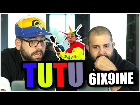 KINDERGARTEN INSTRUMENTAL!! 6IX9INE- TUTU (Official Music Video) *REACTION!!