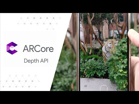 Blending realities with the ARCore Depth API - Deep Dive