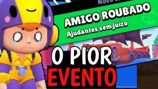 JOGANDO O PIOR EVENTO (MODO DE JOGO) - Brawl Stars