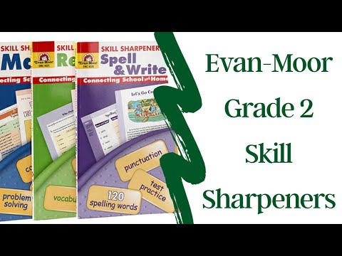 Look Inside Evan-Moor Grade 2 Skill Sharpeners