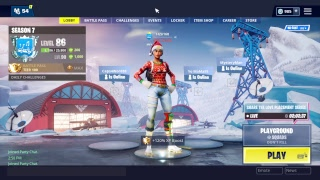 Clapping quelques bots Fortnite 540 victoires (12.000 kills)