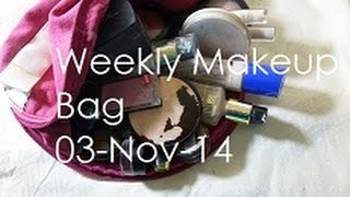 Weekly Make Up Basket | 03-Nov-14 | ThatGallowayGirl Thumbnail