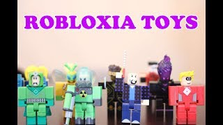Ben Plays With Roblox Heroes of Robloxia Toys Pretending The Fight Between Heroes and Villains