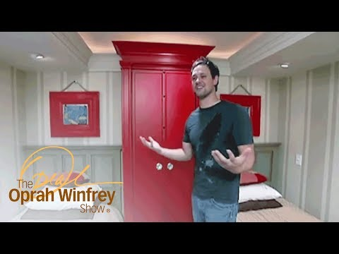 One Dad Imaginatively Designs His Kids' Rooms | The Oprah Winfrey Show | Oprah Winfrey Network