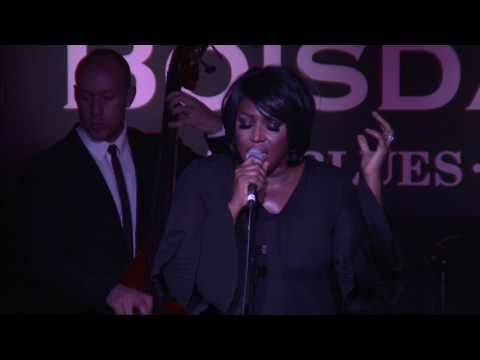 Mica Paris at Boisdale of Canary Wharf April 2017 Part 1