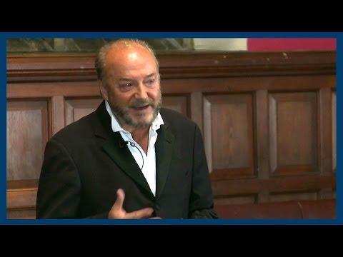 Islam, Democracy and Syria   George Galloway   Oxford Union