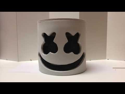 Marshmello LED Dj Costume Helmet Review