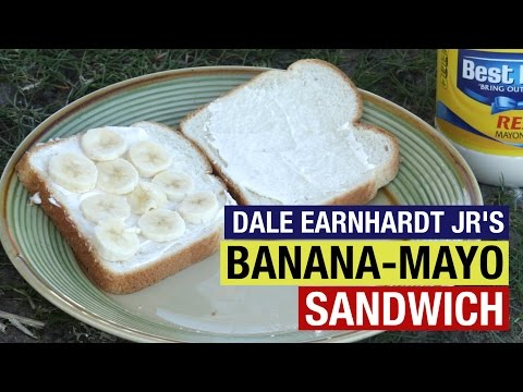 Watch: We tried Dale Earnhardt Jr.'s banana and mayonnaise sandwich