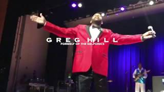Greg Hill Delfonics 2018 / 'la la means i love you'