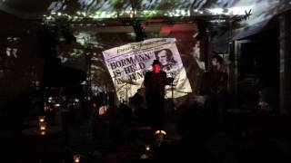 Coum Flakes at Cafe OTO 31 03 2017 Bormann in the Jungle
