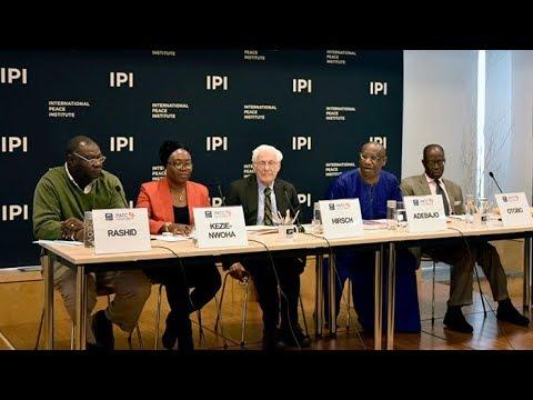 Pax Africana: Peacebuilding in Africa