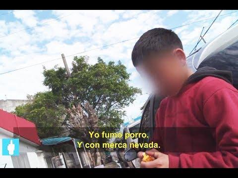 Entrevista a un nene de 12 años que admite que se droga, que roba y que mató a una persona