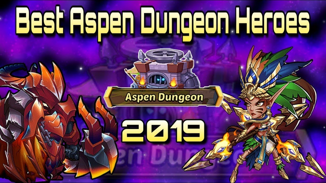 Idle Heroes (O) - Best Heroes For The Aspen Dungeon in 2019 - Nightmare to  Hell Capable