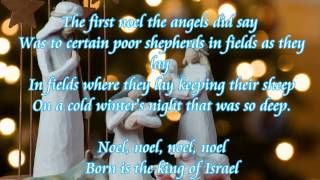 Gregorian~ the first noel (lyrics) -