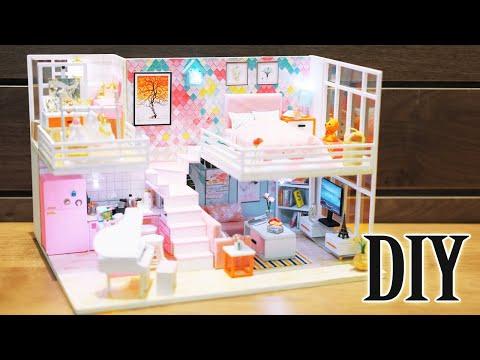 DIY Miniature Dollhouse Kit || Sweet Memory - Miniature Land
