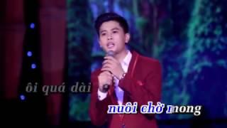 Xin Trả Lại Thời Gian - Karaoke - Nguyễn Thành Viên