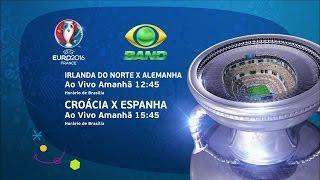UEFA Euro 2016 - Irlanda do Norte x Alemanha e Croácia x Espanha (21/06/2016)