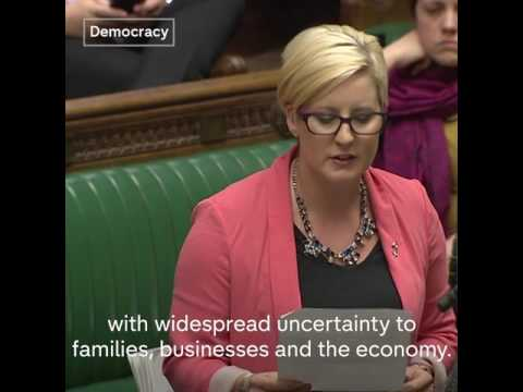 SNP Hannah Bardell takes inspiration from Trainspotting On Brexit