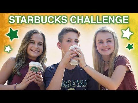 The Starbucks Challenge: Fall Edition! (MattyBRaps vs Liv & Ivey)