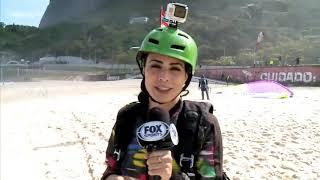 Valeria Marín e Fernando Schwartz, voam de Parapente para a FOX Sports