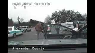 Alexander County Police Chase - February 4th, 2014