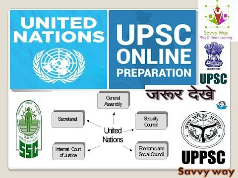 UNITED NATIONS AND ITS ORGANS