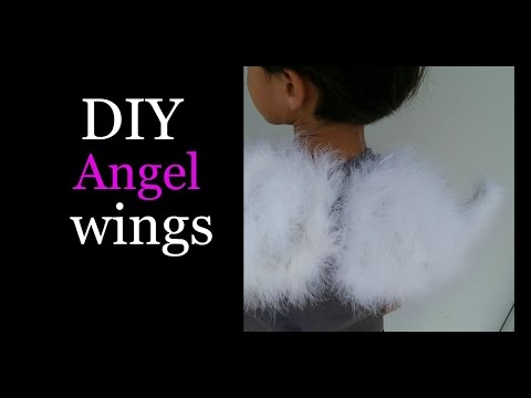 DIY-Make your own Angel wings!!