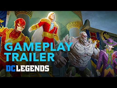 DC Legends: Official Gameplay Launch Trailer | App Store, Google Play