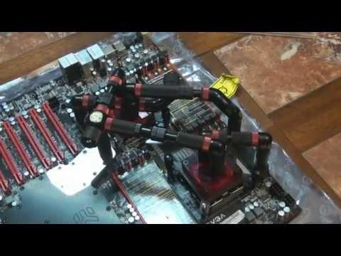 Client Build 5 UPDATE: Personal Super Computer 2011 (SR-2 X5690 OCZ Vertex 3 GTX590 Nvidia Tesla)