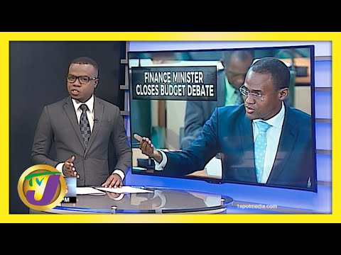 Finance Minister Slams Opposition - Jamaica's Budget Debate | TVJ News