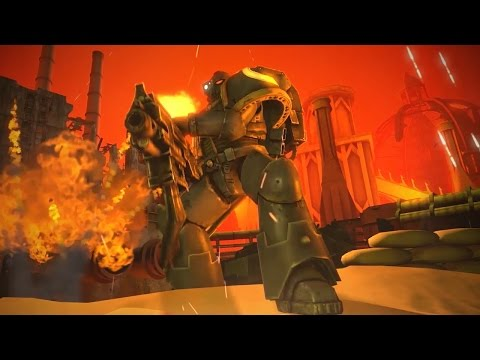 Warhammer: A New Kind of Space Marine [SFM] Animation