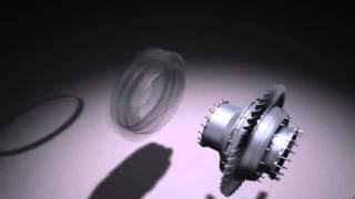 Моделирование и анимация авиационного двигателя
