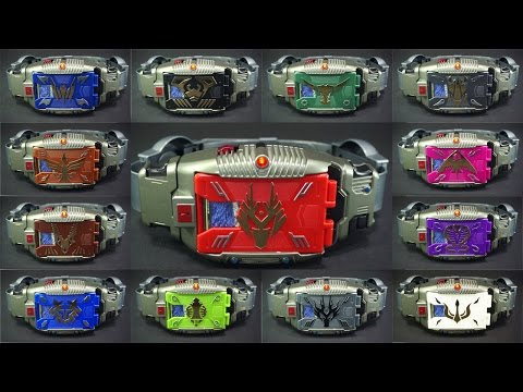 仮面ライダー 龍騎 変身ベルトVバックル 13ライダーセット トイザラス限定 Kamen Rider Ryuki 13 Rider set Toysrus limited