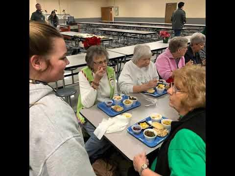 Gleason School Celebrates Seniors in December