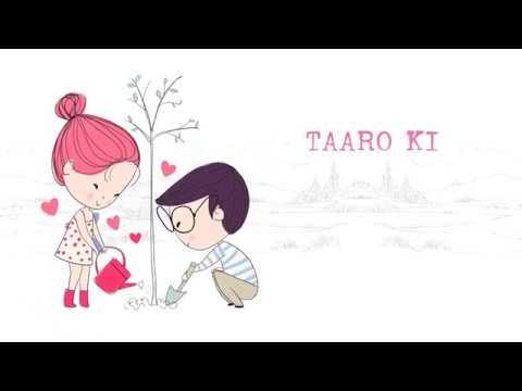Tune Kaha | Sung By Prateek Kuhad - Lyrics Video By Shruti Sinha