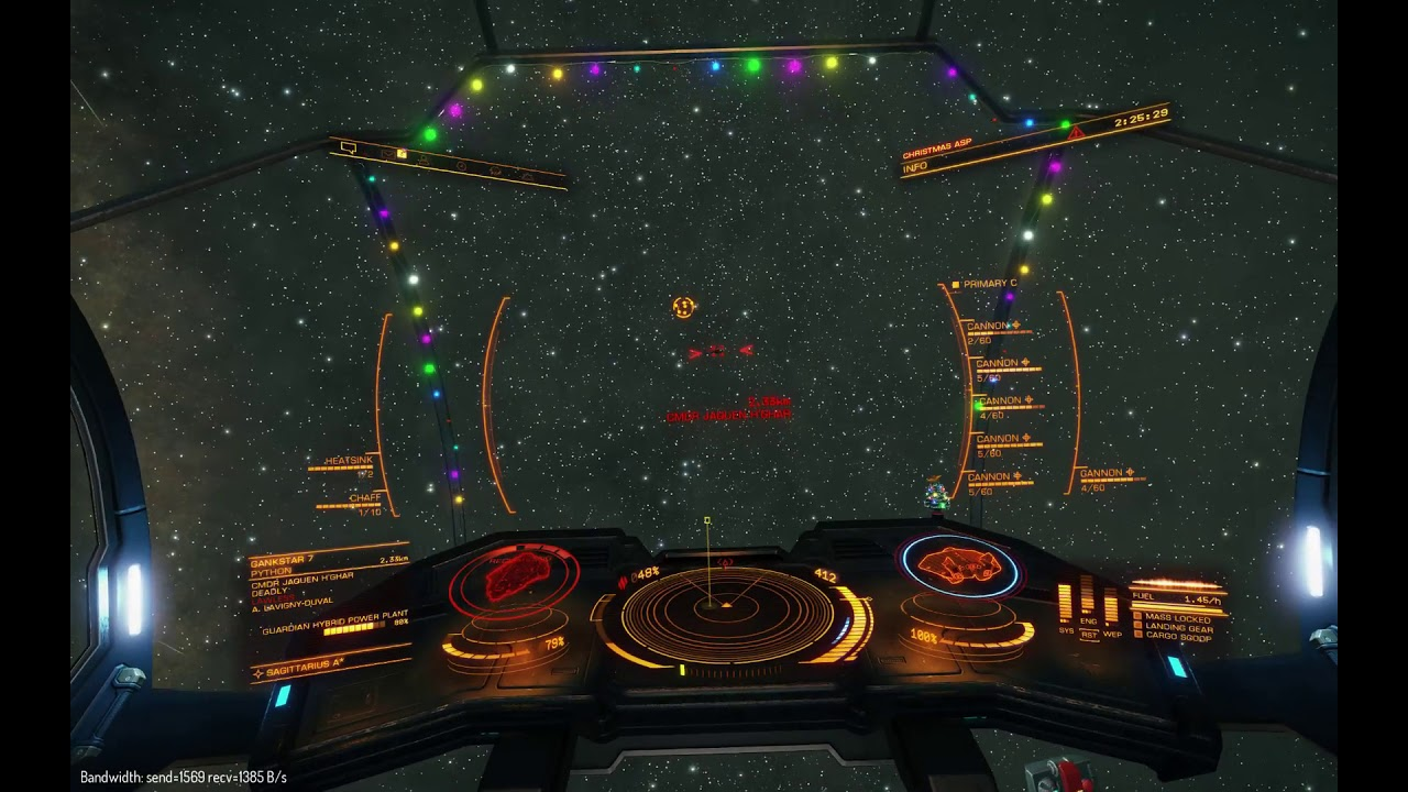 PvP Battle of Sag A* Re-match  Asp Explorer vs Python (Elite Dangerous)