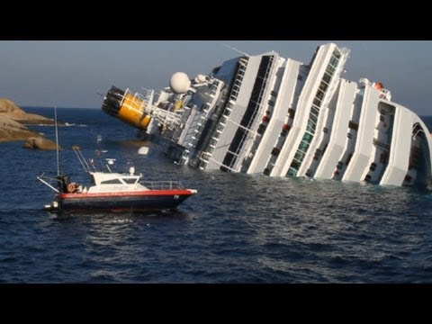 Cruise Liner Crash - Costa Concordia The Whole Story