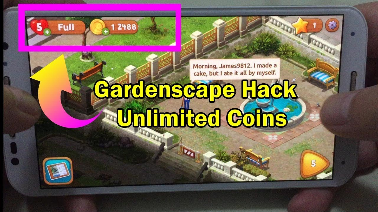 Gardenscape Hack Cheats Unlimited Coins Stars No Root Working Mar 2018 Updated Youtube