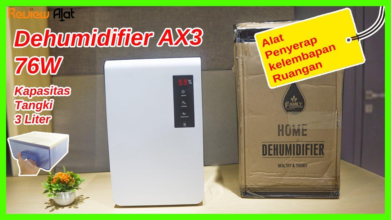 Dehumidifier AX3 Air Dryer 3L 76W - Alat Penyerap kelembaban Ruangan