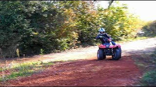 Ripping the Quad  -  KYMCO MXER 150