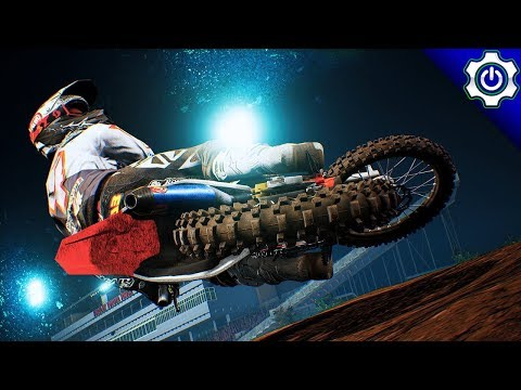 Monster Energy Supercross - Multiplayer Tryharding with No Collisions