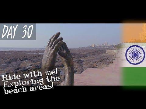 Day 30 | Ride with me! Vapi to Mumbai! + Beach explore  | MUMBAI - INDIA | Solo Travel Vlog
