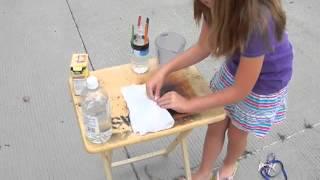 Vinegar and Baking Soda Bottle Rocket Project