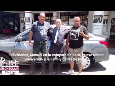 Delightful Manuel Just Got His New 2016 Nissan Versa At Metro Nissan Of Montclair!    YouTube