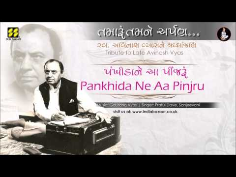 Pankhida Ne Aa: Tribute to Avinash Vyas | Singer: Praful Dave, Sanjeevani | Music: Gaurang Vyas