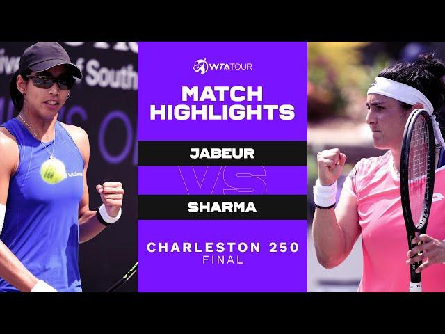 Ons Jabeur vs. Astra Sharma | 2021 Charleston 250 Final | WTA Match Highlights