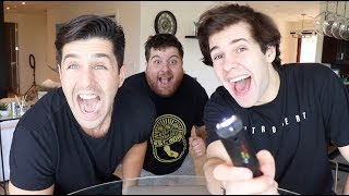 SHOCKING THANKSGIVING TRIVIA WITH PUNISHMENTS! DAVID DOBRIK AND JONAH!