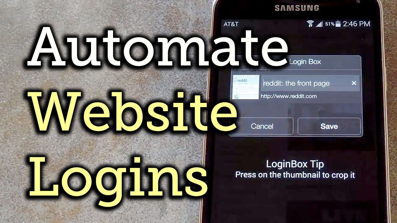 Auto-Fill Usernames & Passwords to Log in to Any Website - Android [How-To]